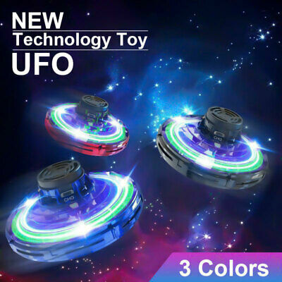 UK Mini Drone Smart UFO Aircraft For Kids Flying Toys 360° RC Hand Control Xmas • 9.79£