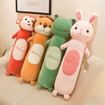 Children Pillow Lazy Plush Toy Long Sleeping Cylindrical Pillow Doll Creative • 36.22£