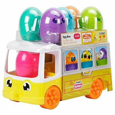 TOMY Toomies Hide And Squeak Egg Bus Baby Toy • 16.17£