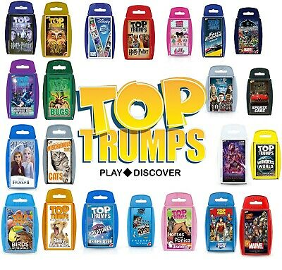 Top Trumps Card Games Play & Discover Top Trump NEW EDITION , LATEST EDITIONS • 4.91£
