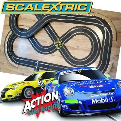 Scalextric Sport 1:32 Set - Double Figure-Of-Eight Layout With Cars • 179.99£