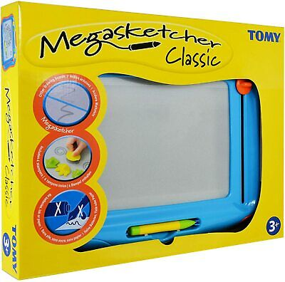 Tomy Megasketcher Magnetic Drawing Board Large Writing Pad & Magic Eraser - 6555 • 18.70£