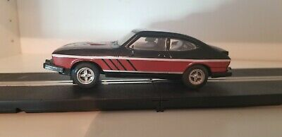 Scalextric/scx/slot Cars- Ford Capri - Refurbished With Lights And Mirrors • 22£