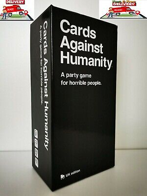 Cards Against Humanity UK V2.0 600 Cards Latest Edition New  UK FREE DELIVER • 10.99£