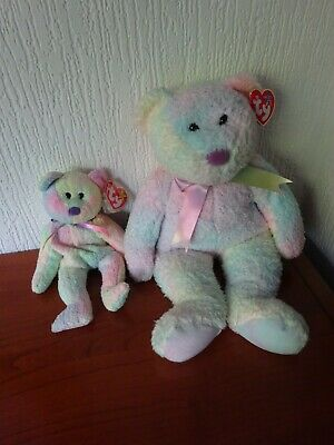 Ty - 'GROOVY' - Beanie Buddy AND Beanie Baby  - PERFECT With Original TAGS. • 24£