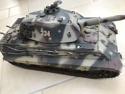 Rare Tamiya King Tiger With Porsche Turret 1/16 Scale Tank For Radio Control • 395£