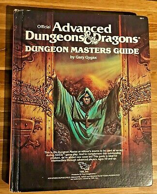 Advanced Dungeons And Dragons Dungeon Masters Guide Revised 1st Edition Dec 1979 • 24.99£