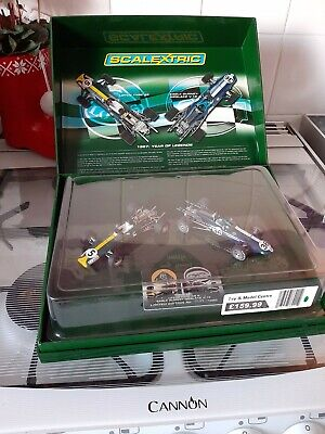 Scalextric 1967 Year Of The Legends Lotus And Eagle Gurney Limited Edition. • 45£