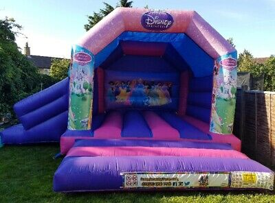 15x17ft Disney Princess Bouncy Castle With Slide Inflatable • 550£