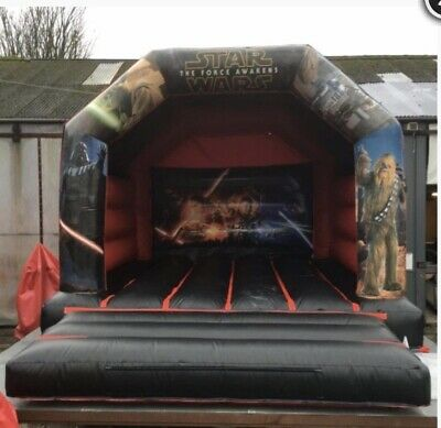 12x15ft Star Wars Bouncy Castle Inflatable • 450£