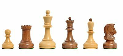 The Dubrovnik Chess Set - Pieces Only - 3.75  King - Golden Rosewood • 157.48£