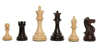 The Players Chess Set - Pieces Only - 3.75  King - Indian Rosewood • 165.02£