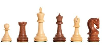 The Leningrad Chess Set - Pieces Only - 4.0  King - Golden Rosewood • 134.88£