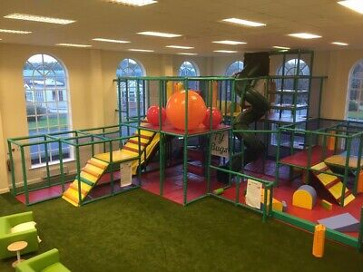 SOFT PLAY Equipment Used, Variety Of Shapes And Sizes, Includes 4m High Slide • 1,800£