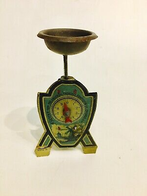 An Interesting UTCC Promotional Penny Toy Weigh Scale  Germany C 1920 • 25.67£