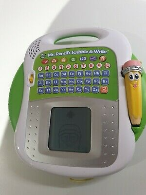 LeapFrog Mr Pencil's Scribble And Write Learning Toy (600803) • 8.62£