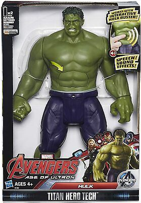 Marvel Avengers Hulk Action Figure Titan Tech Interactive Talking Electronic Toy • 22.95£