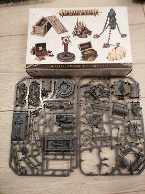 Warhammer Age Of Sigmar Shattered Dominion Objectives New And Unasembled • 10.50£