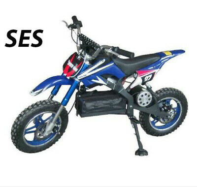 36v 500w Kids Ride On Electric Motor Cycle Red Dirt Pitt Bike Two Wheel Uk Ce  • 399.99£