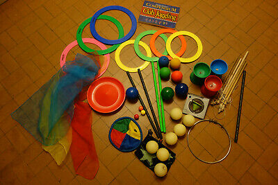 Juggling Joblot Diablos Sticks Plate Scarves Light Up Balls Rings Yo2 Circus • 25.99£
