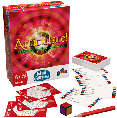 Articulate Mini Game - Family Fun Game Brand New & Sealed • 9.99£