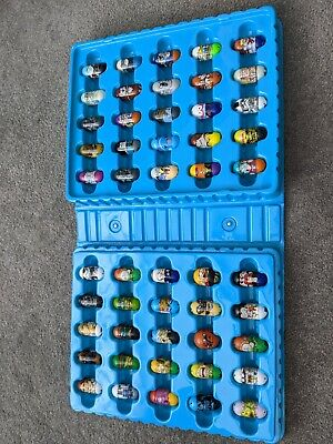 50 Mighty Beanz In Carry Case • 25£