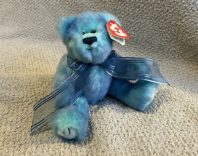 TY Attic Treasures - Azure The Blue Bear - With Tags • 3.85£