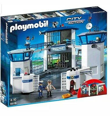 Playmobil 6919 City Action Police Headquarters With Prison • 71.70£