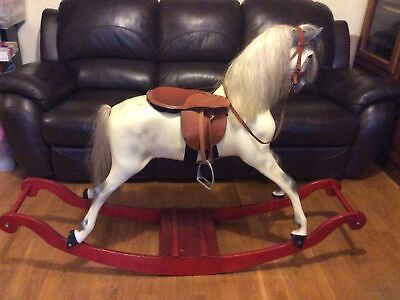 Haddon Bow Rocker Traditional Dapple Rocking Horse Preowned  • 700£