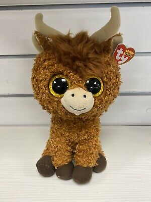 TY Beanie Boo - Angus The Highland Cow - Large - Limited Edition 28cm • 12.99£