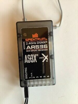 Spektrum AR636 Programmable Receiver And Programming Leads • 21£