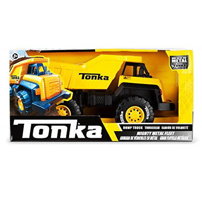 Tonka 6061 Mighty Metal Fleet, 8 Inch Die-Cast Dumper Truck Toy For Boys And For • 14.92£