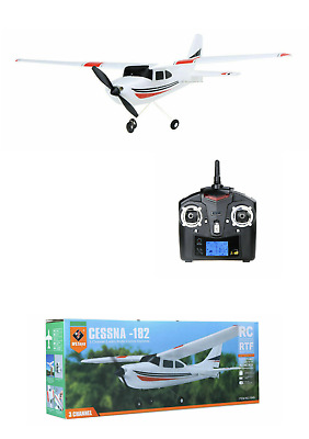 NEW WLtoys F949 CESSNA-182 RTF Airplane Aircraft RC Fixed Wing Plane 2.4G 3CH UK • 39.89£