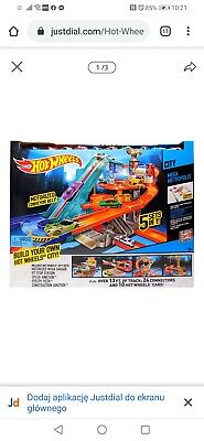 Hot Wheels Motorized Garage City Large Playset • 29£