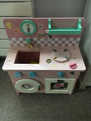 Kids Wooden Kitchen, Pink  • 13.50£