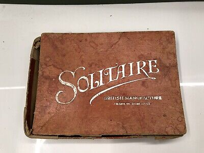 USED (Spares/Repairs) Vintage Solitaire British Made (Incorrect Balls) • 8£