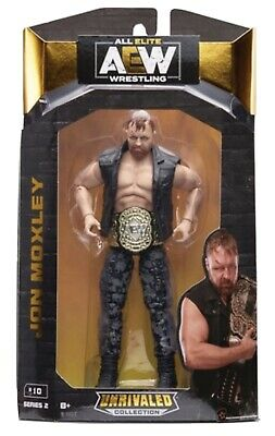 AEW UNRIVALED SERIES 2 JON MOXLEY TOY WRESTLING ELITE SERIES Figure ACTION WWE • 45.95£