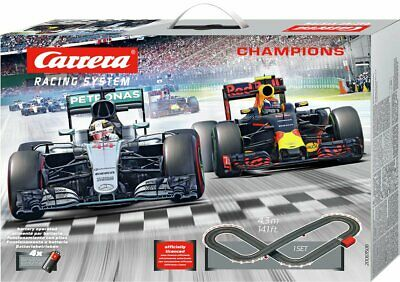 Carrera Mercedes F1 Slot Car Racing Champions • 45.99£