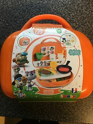 Smoby 44 Cats 17 Piece  Mini Kitchen 3 Yrs + FREEPOST Kids Toys RRP £31 SOLDOUT • 11.49£