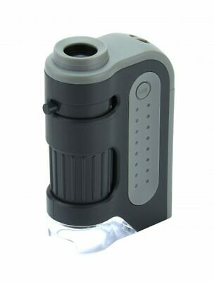 Carson MicroBite Plus MM-300 60-120X LED POCKET MICROSCOPE - OFFICIAL UK STOCK • 15.99£