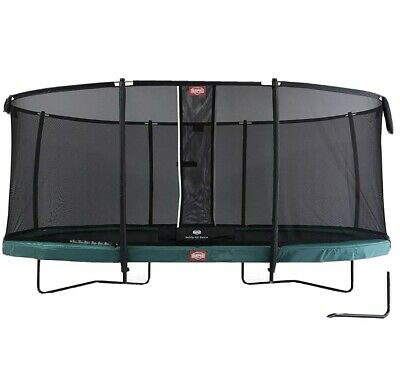 BERG Grand Champion Regular 470 + Safety Net Deluxe Green Free Delivery Used • 649£