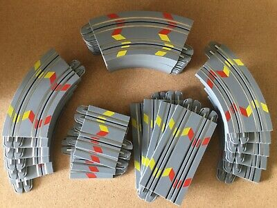 "Micro Scalextric 1:64  "" 2019 New Design Grey Track   Job Lot Of 28 Pieces • 21.50£"