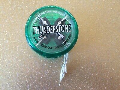 Vintage Thunderstone 4 Ball Clutch Professional Power Yo-Yo, Green • 14£