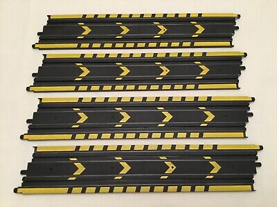 Micro Scalextric 1:64 Track    4 X 15inch ( 385mm ) Straights • 3.95£