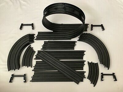 Micro Scalextric 1:64    Extension Track    24 Pieces Plus Loop The Loop • 19.95£