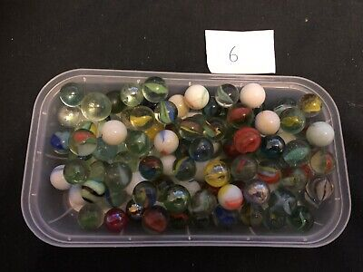 Mixed Bundle Of Marbles(used) • 2.75£