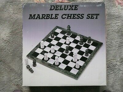 Deluxe Marble Chess Set • 50£