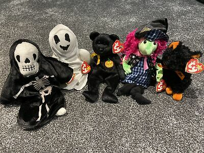 Ty Beanie Babies Halloween Edition Bundle With Swing Tags • 12£