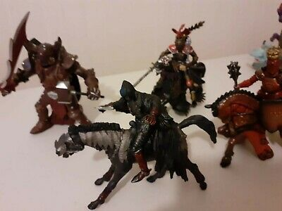 PAPO Schleich FANTASY WRAITHS KNIGHT Lord Ring LOTR Plastic Action Figures  • 10.95£
