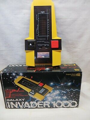 Galaxy Invader 1000 Vintage Space Battle Game In The Original Box • 51£